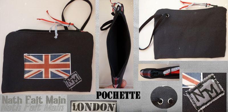 Mini pochette 'LONDON'