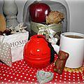 ╰☽ 58# thé noir pomme d'amour de la maison de thé dammann frères