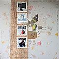 Antre Scrap - Un papillon à la page...