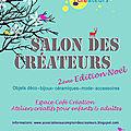 <b>Salon</b> des <b>Créateurs</b> à Andilly