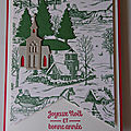 Carte Eglise dans un dôme à secouer