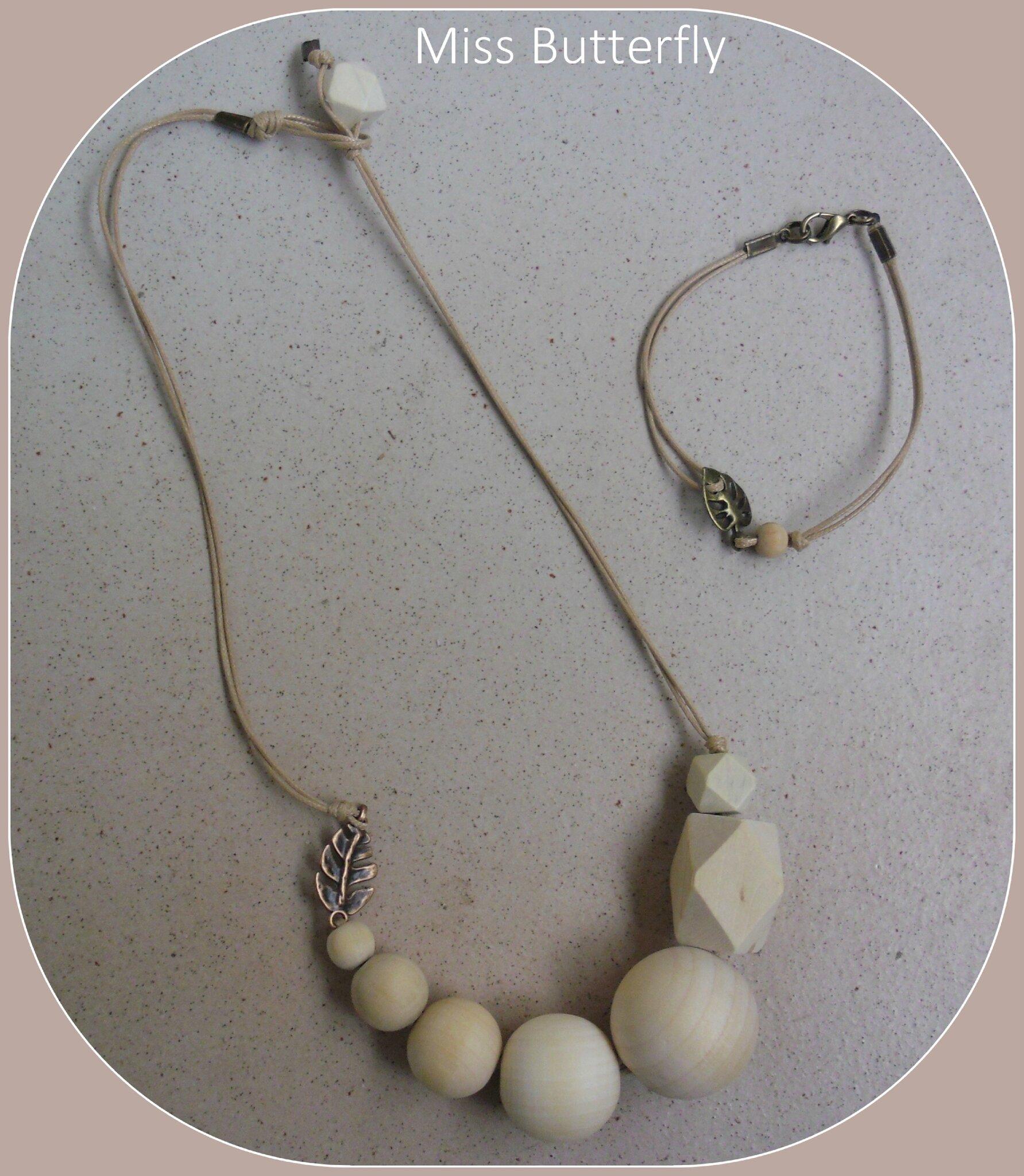 CK 16 collier et bracelet