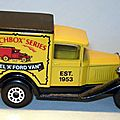 001 MB38 Van Matchbox Series