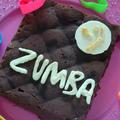 Brownies zumba {on peut être gourmande et sportive à la fois nan mais !}