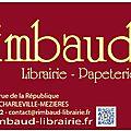 Le cabaret vert bd et la librairie rimbaud de nouveau partenaire !