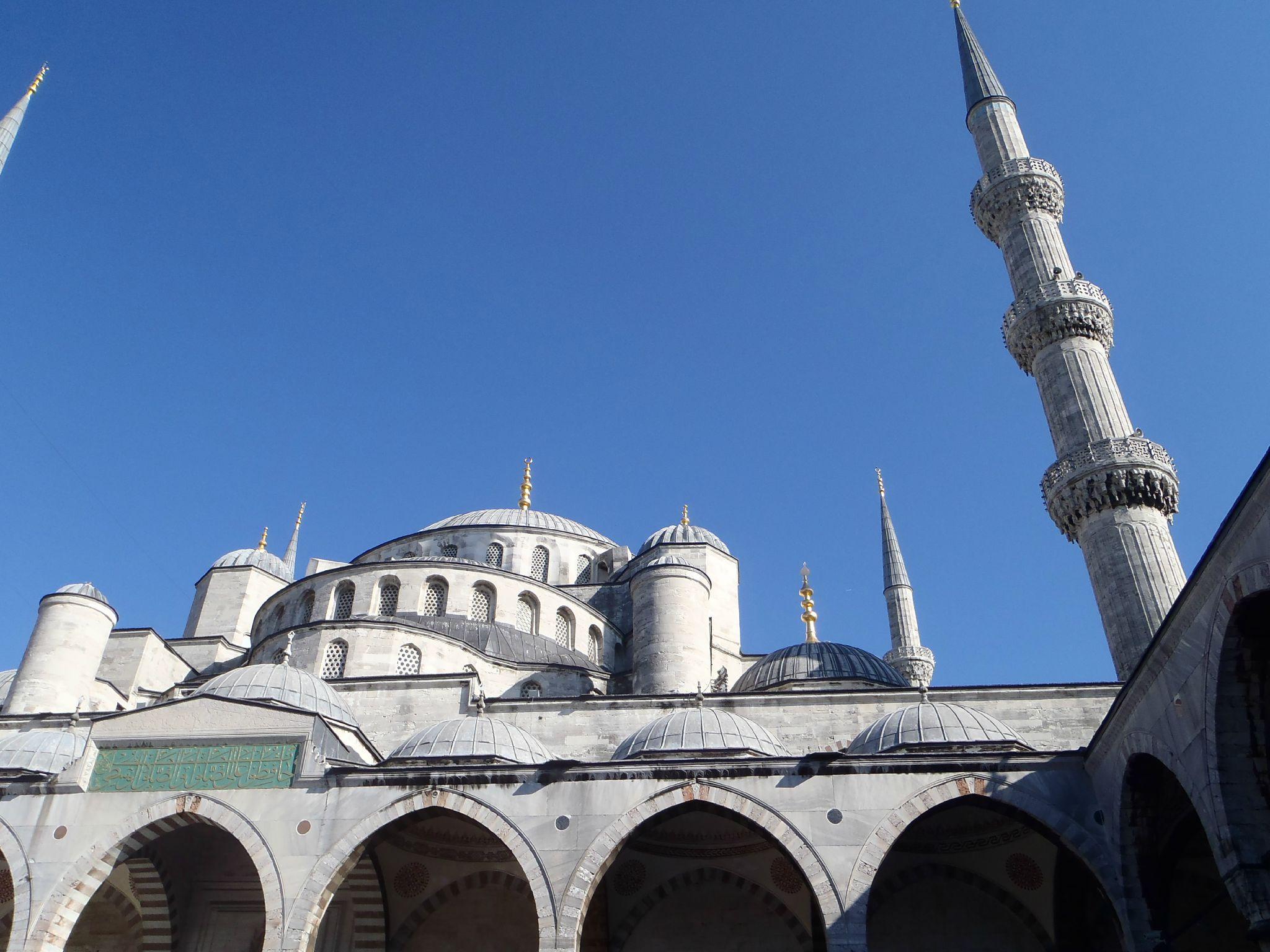 turquie istanbul mosquée bleue