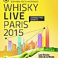 Paris whisky live 2015