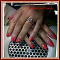 pose d'ongles gel uv mains 2015