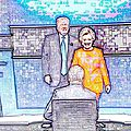 Match <b>Hillary</b> <b>Clinton</b> vs Donald Trump : 1 partout
