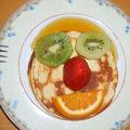 Mr pancakes etait invité pour le petit dej!!