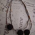 collier double ou sautoir