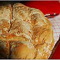 J'aime le pain donc je mets la main à la pâte...