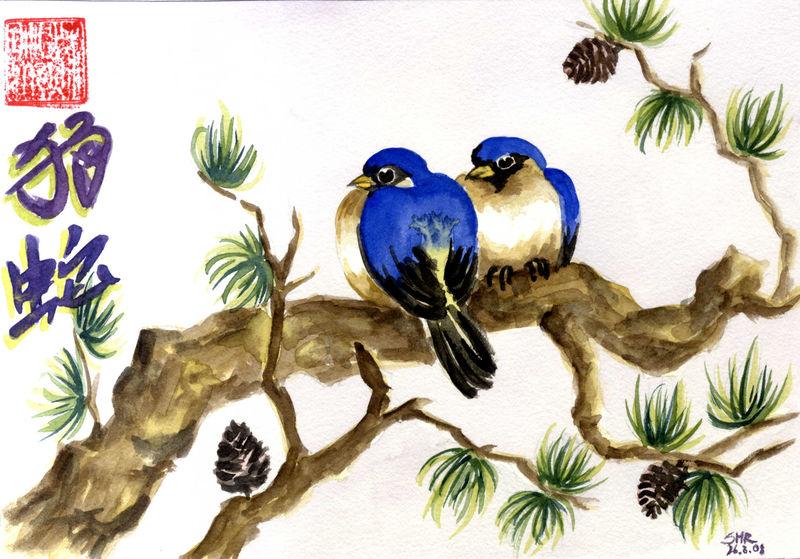 Vogelpäarchen
