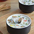 Soupe Onctueuse aux Coques - Clam Chowder