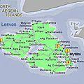 Lesbos - la boucle du sud, carrément frustrante.