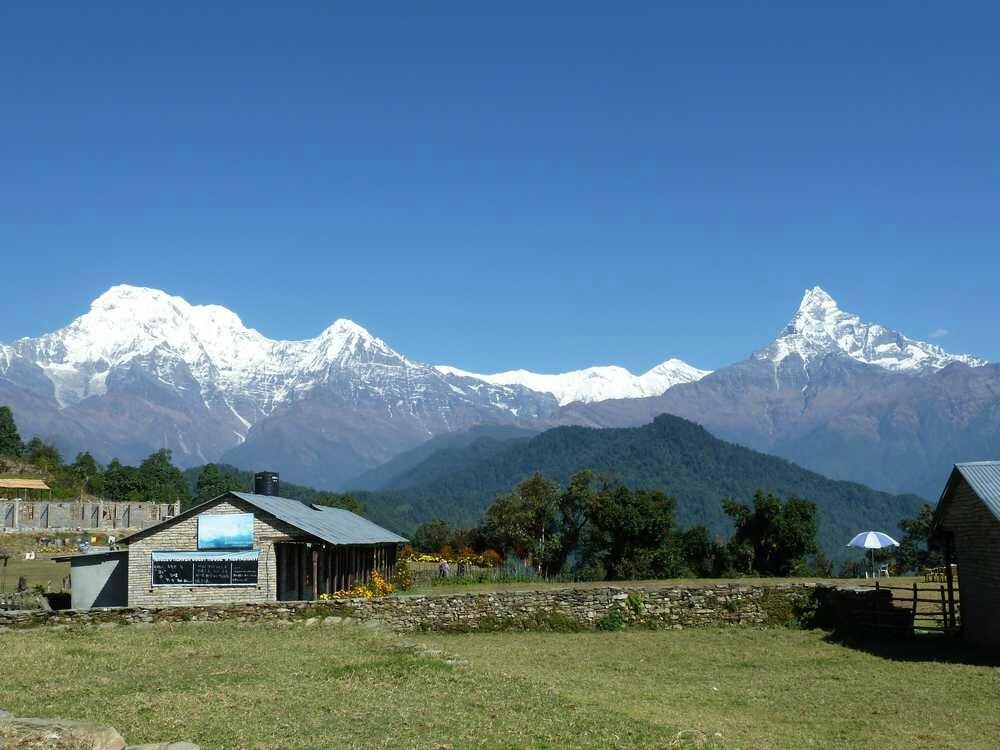 Voyage au Népal, automne 2012 / 2ère partie : Les Balcons des Annapurnas