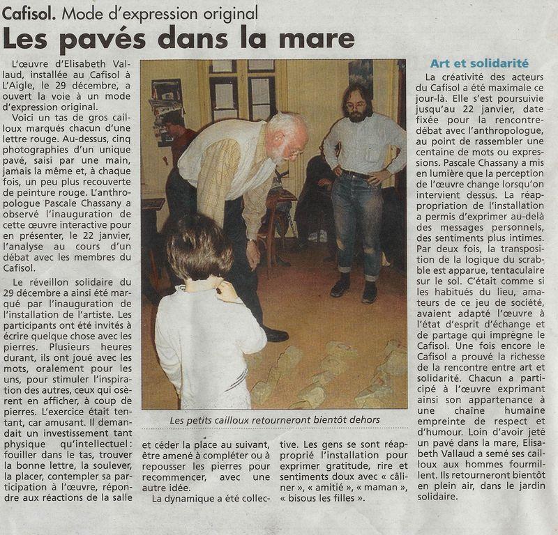 ZUT de décembre 2010 - article réveil normand du 02 02 2011