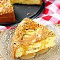 Gâteau aux pommes caramelisées & aux éclats de noisettes4