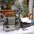 PROJECTEUR EUMIG MARK BIFORMAT 8mm:SUPER 8+BOBINE+FILM@