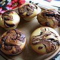 Muffins au nutella.