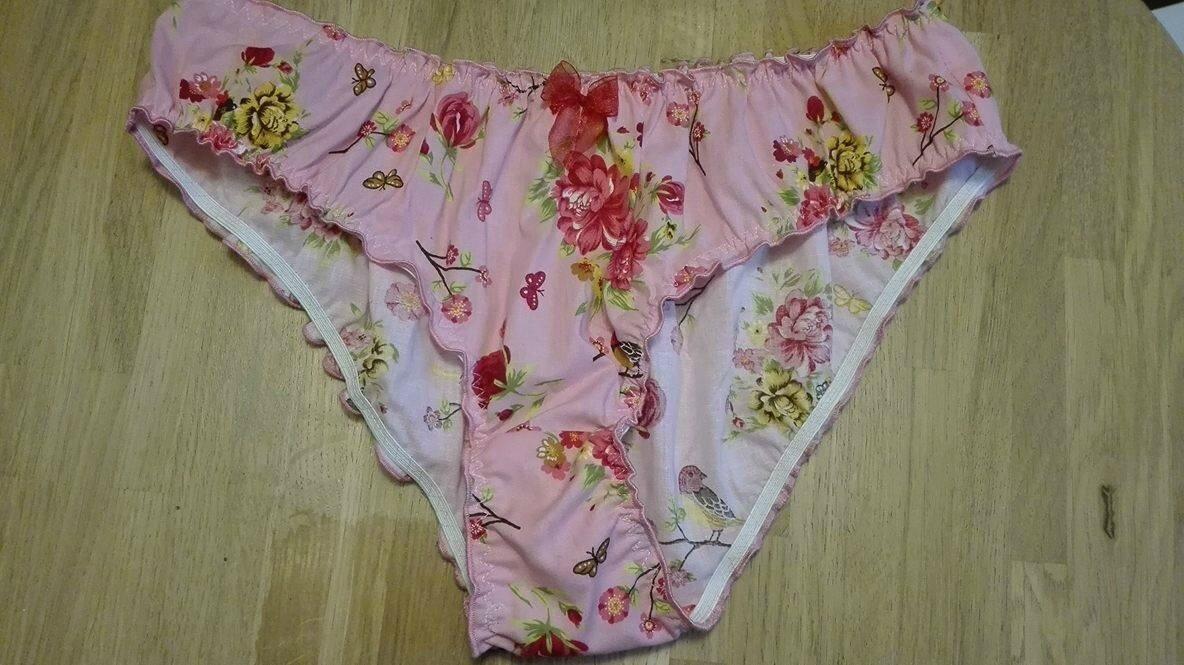 Culotte CHARLOTTE en coton rose fleuri
