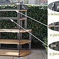 etagere bois palette
