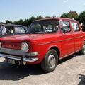 Simca 1000 - modèles de 1969 à 76