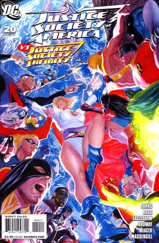 justice society of america 20