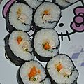 Makis poulet curry