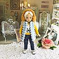 <b>Tenues</b> pour poupée Little Darling Dianna Effner