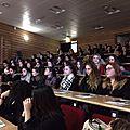 8 mars, journée internationale de la femme, 100 collégiennes invitées au lycée <b>Maryse</b> BASTIE