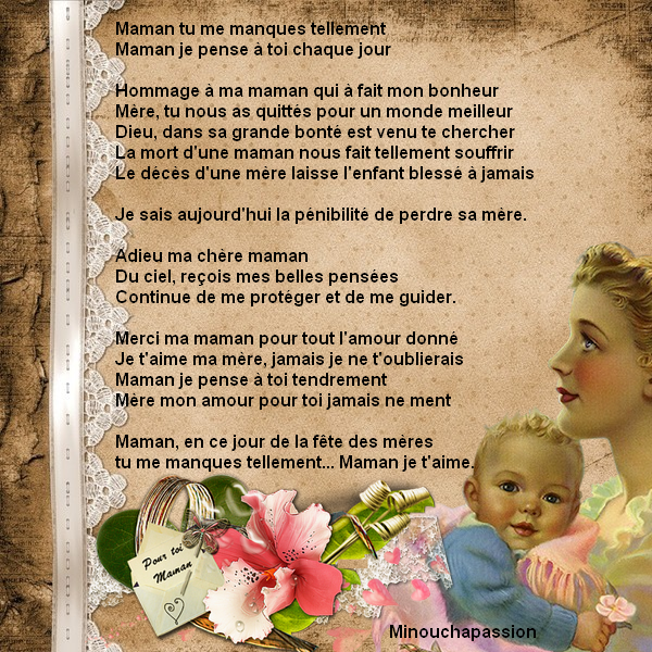 2 fêtes des mamans création minouchapassion