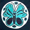 Papillon du Japon Aurélie Composition en cercle