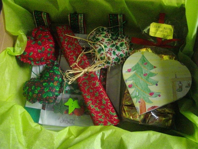 Echange de Noël avec line (2e photo)
