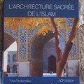 Architecture sacrée de l'islam