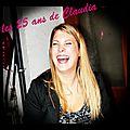 les 25 ans de Claudia