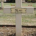 Soldat Auguste MALI