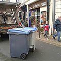 Rammassage des ordures...le 23 décembre vers 11h