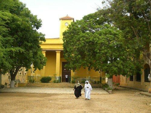 île de Gorée, Eglise