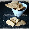 Shortbread (sablés ultra fondants !)