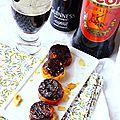 Mini tatins de carottes violettes et Irish <b>Picon</b>, de quoi picorer pour le Foodista Challenge#6