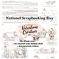 Bientôt le National Scrapbooking Day !