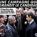 Sarkozy a encore grandi : sur le site de l'elysée, les photos montrent un futur candidat au dessus de tout !