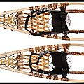 <b>Raquettes</b> de Neige Huron - Snow Shoes - Kaufmann Mercantile