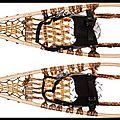 Raquettes de neige huron - snow shoes - kaufmann mercantile