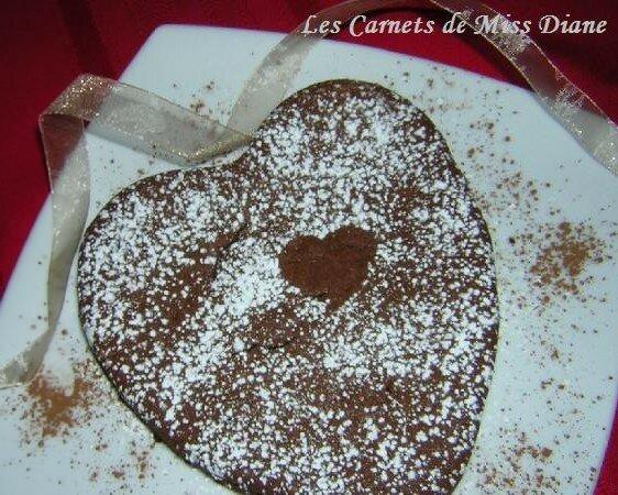 Coeur en chocolat pour la St-Valentin