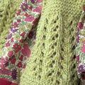 Abigail sweater en babay alpaga pistache, taille 6 mois