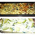 Terrine courgettes aux oeufs menthe