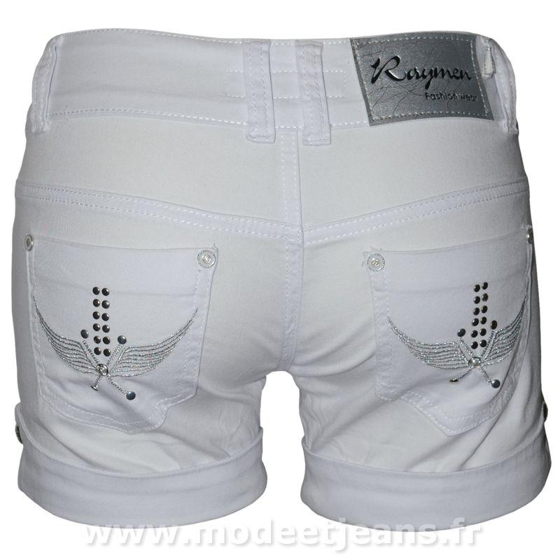 mini short femme blanc sexy taille basse mini short pas. Black Bedroom Furniture Sets. Home Design Ideas