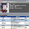 Myself world tour dvd: jolin ranks #4 on g-music & #9 on 5music!